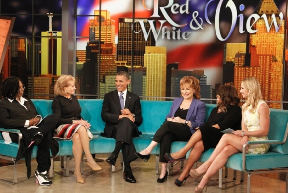 President Obama's appearance on 'The View' draws lower ratings than 2010 interview  - NY Daily News