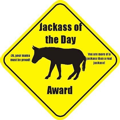 Jackass Award